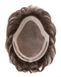 Protesi capelli uomo in monofilamento