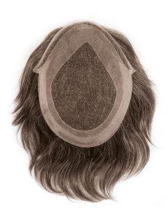 Protesi con capello vero indiano lace front esteso
