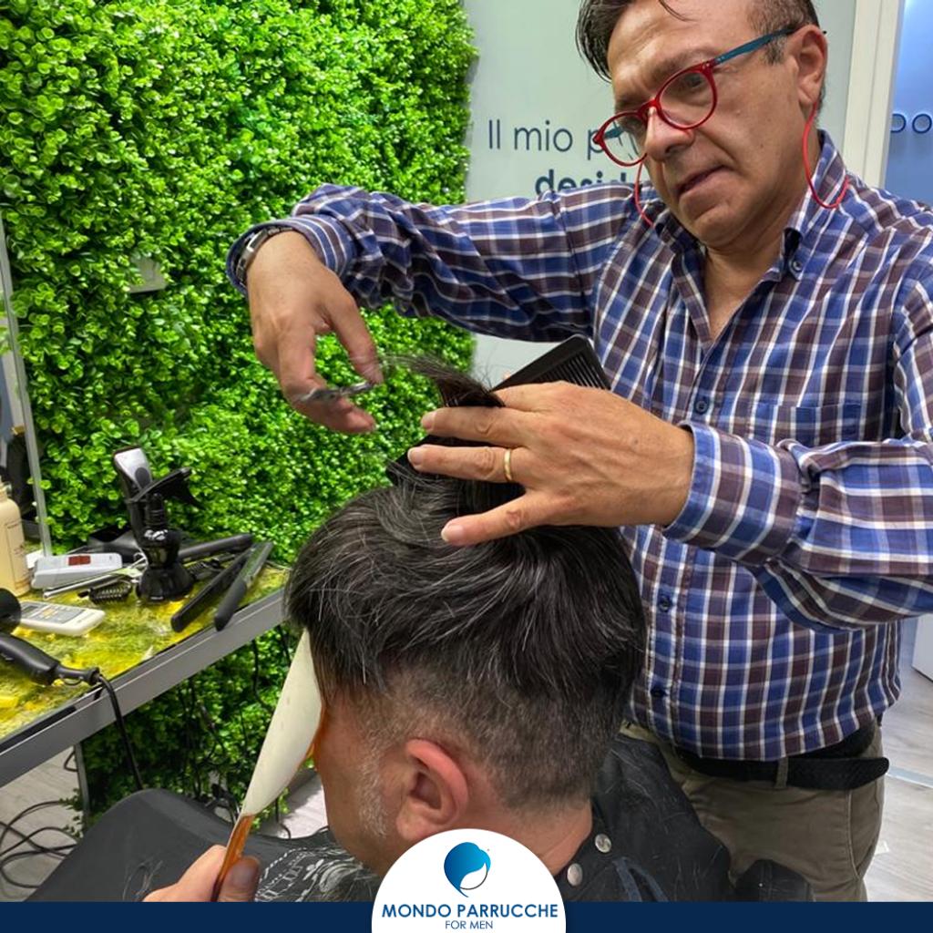 Manutenzione impianti capelli uomo