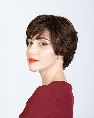 Parrucca naturale corta