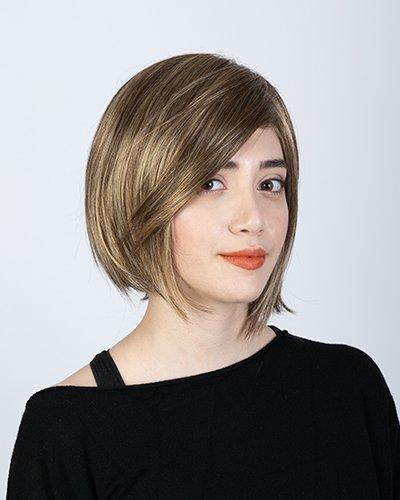Parrucca sintetica corta
