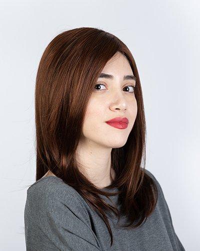 Parrucca sintetica lunga
