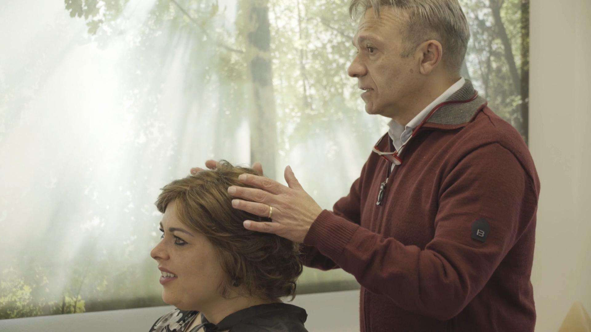 Consulenza sulla caduta dei capelli da chemioterapia