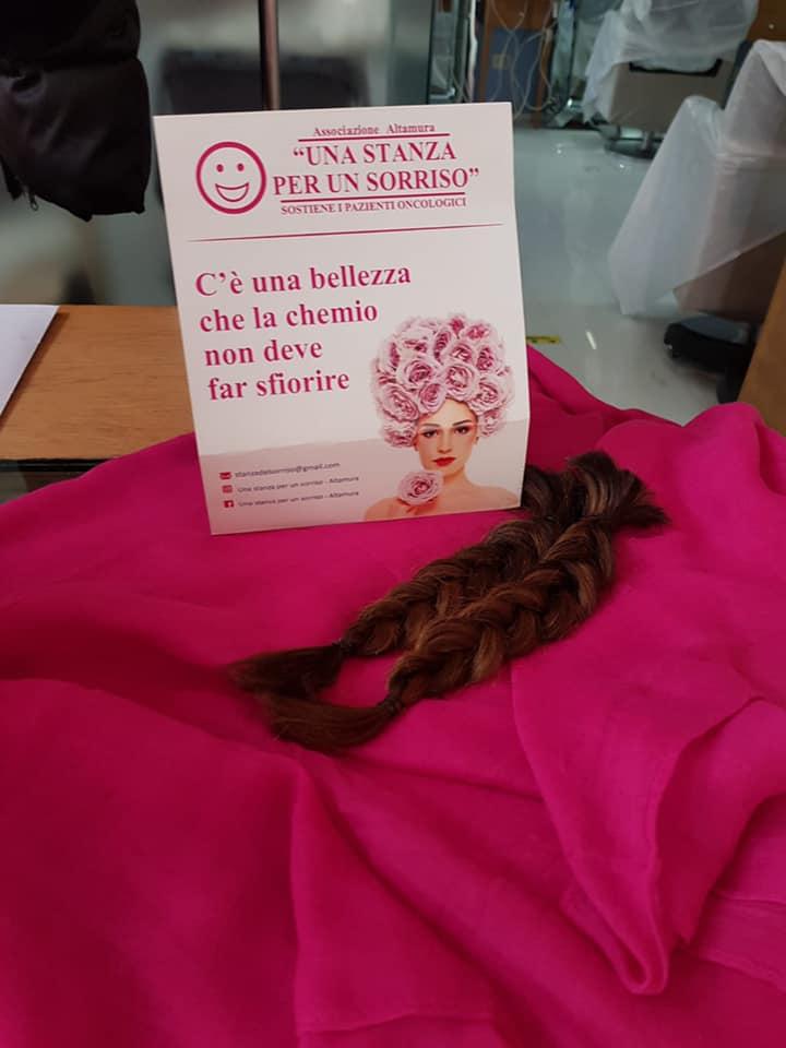 Raccolta capelli a Catania